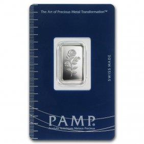 2.5 Gram Silver Bar - Pamp Suisse (rosa)
