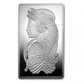 10 Oz Silver Bar - Pamp Suisse (fortuna)