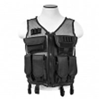 Vism By Ncstar Lightweight Mesh Tactical Vest/black M-x