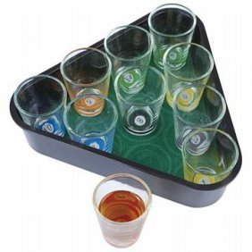 Maxam 11pc Pool Drinking Game Set
