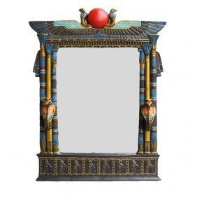 Egyptian Wall Mirror