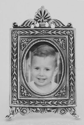 Vintage Neoclassical Style Mini Picture Frame In Fine S