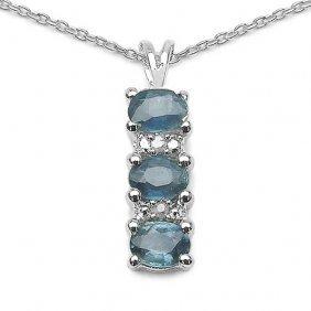 Sapphire Blue:oval/4x3mm 3/0.66 Ctw + Diamond White:rou