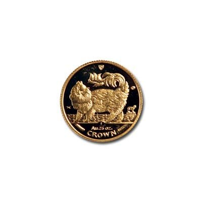 Isle of Man Gold Cat 25th Ounce 1993