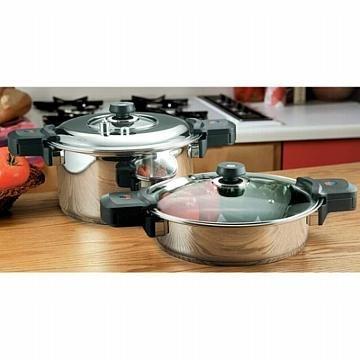 Precise Heat 12-Element Low-Pressure, Pressure Cooker