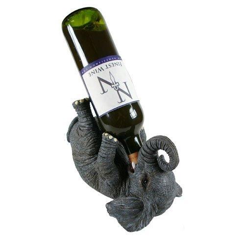 Elephant Guzzler Wine Holder