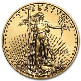 2010 1/4 oz Gold American Eagle BU