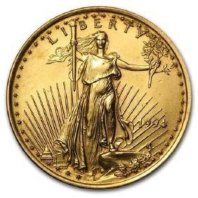 1994 1/4 oz Gold American Eagle BU