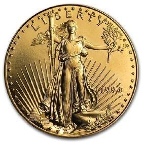 1994 1 oz Gold American Eagle BU