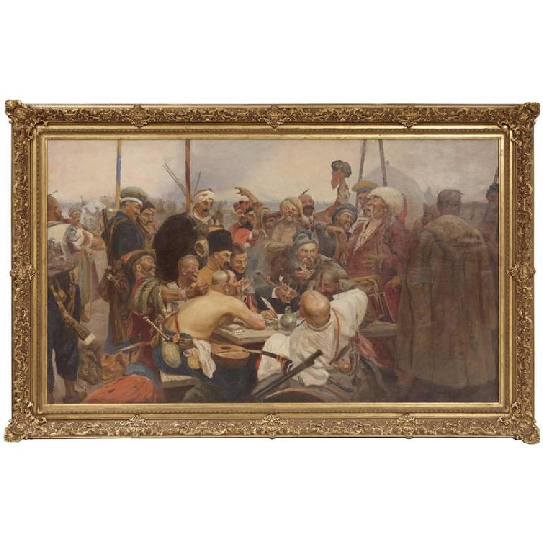 Reply of the Zaporozhian Cossacks to Sultan Mehmed IV P