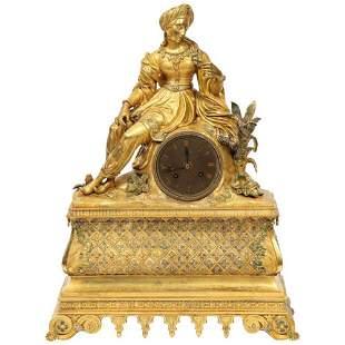 Exquisite French Charles X Ormolu Orientalist Sultana