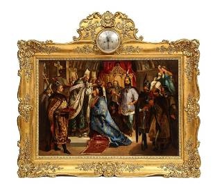 Unknown (Polish, 19th Century) Exceptional Quality Oil