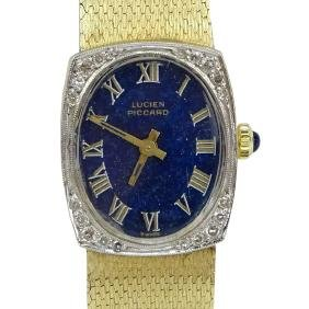 Lady's Vintage Lucien Picard 14 Karat Yellow Gold