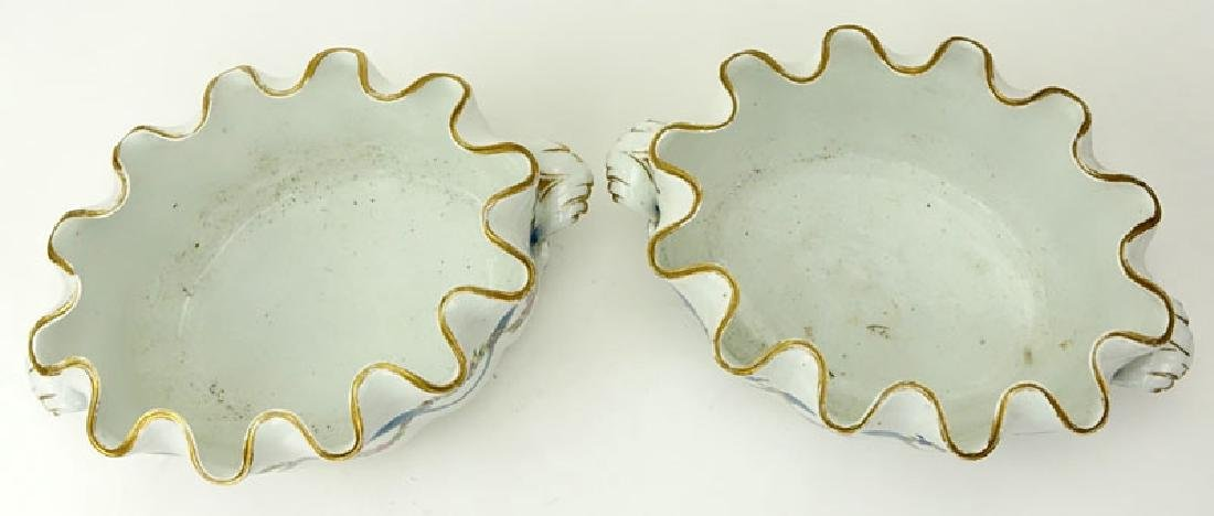 Pair of 18/19th Century French Porcelain Monteiths. - 2