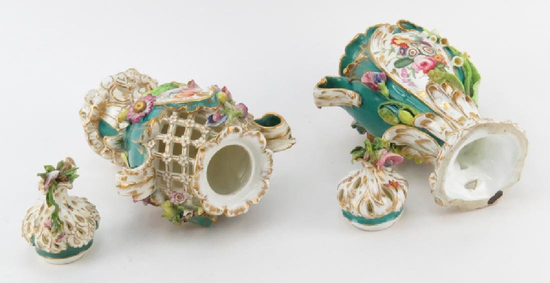 Pair of 18/19th Century English, Possibly Chelsea, Hand - 2