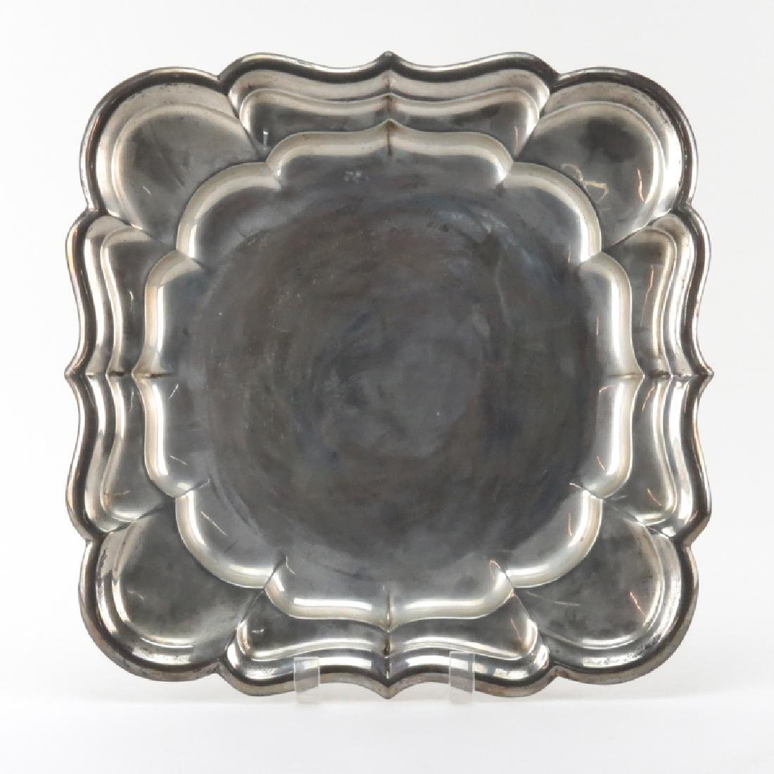 Vintage Reed & Barton Sterling Silver Tray. Signed.
