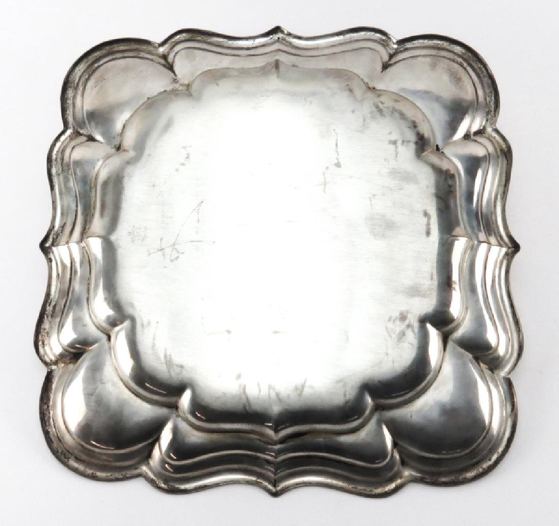 Vintage Reed & Barton Sterling Silver Tray. Signed. - 2
