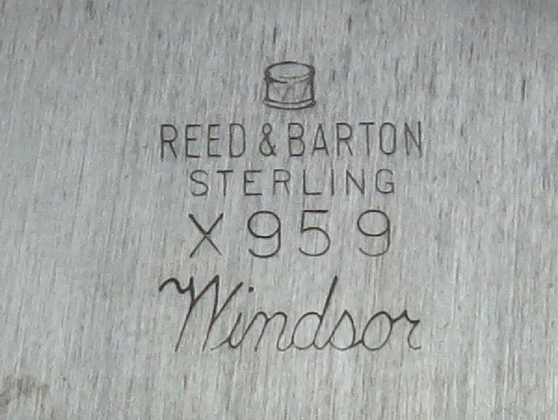 Vintage Reed & Barton Sterling Silver Tray. Signed. - 4