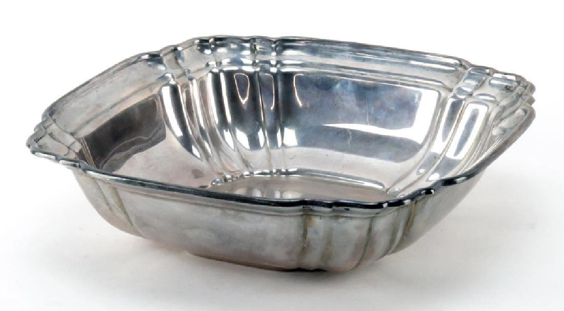 Vintage Gorham Sterling Silver Square Bowl. Signed. - 2