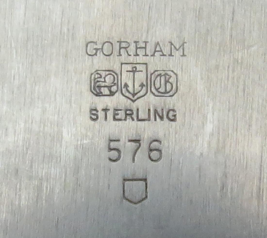 Vintage Gorham Sterling Silver Square Bowl. Signed. - 4