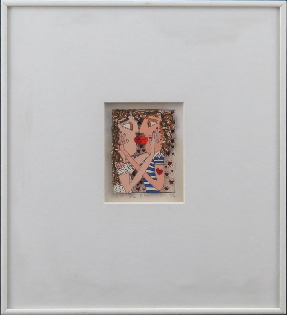 "James Rizzi, American (1950-2011) 3-D Screenprint, ""The - 2"