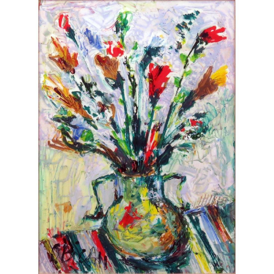 "Jovan Obican, Yugoslavian/French (1918-1986) ""Still"