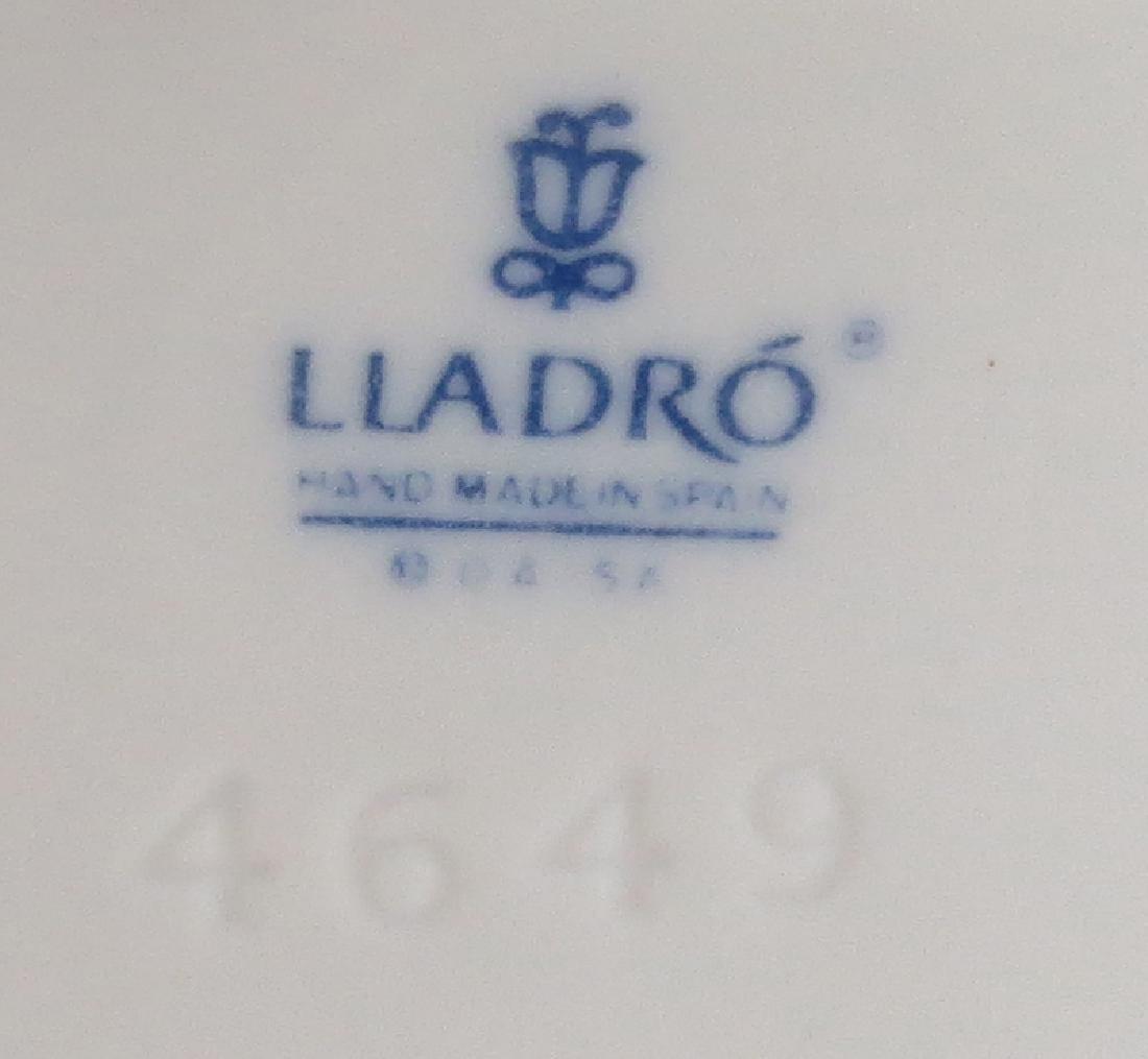Grouping of Four (4) Lladro Glazed Porcelain Figurine. - 4