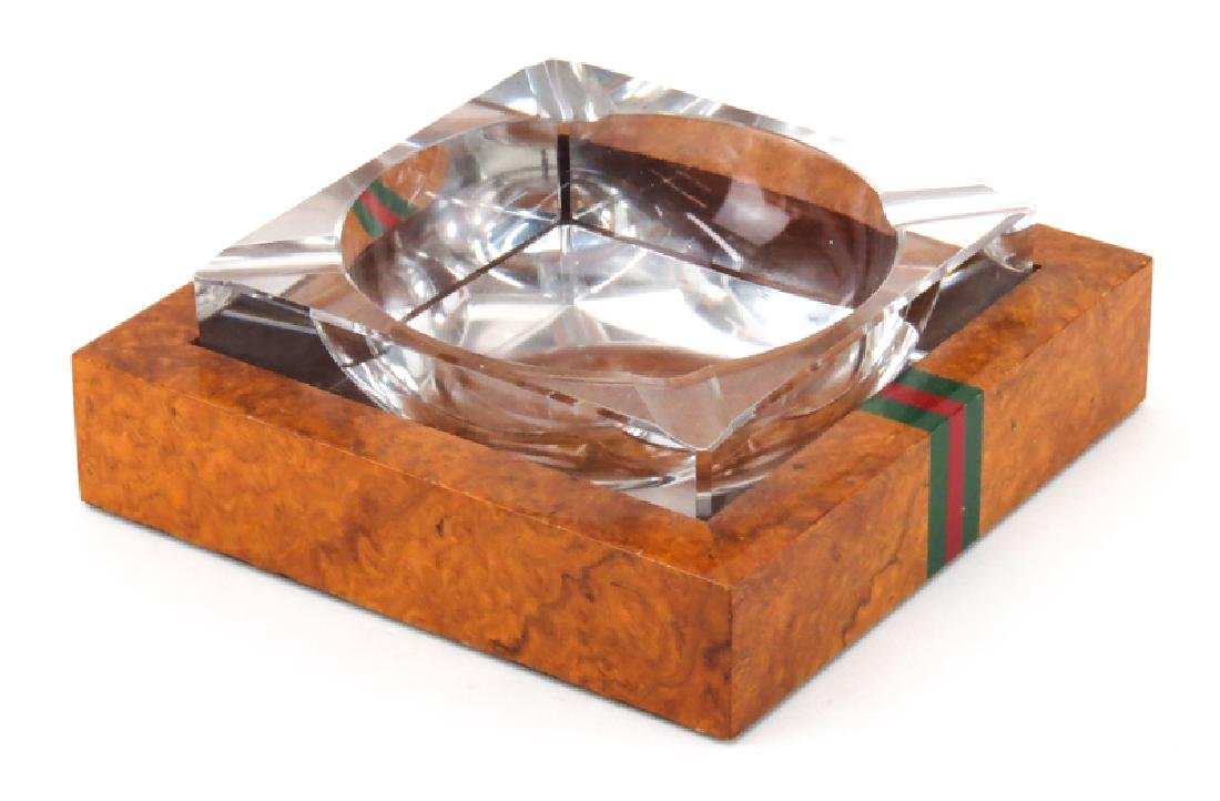 Six (6) Pieces Gucci Desk Accessories. Includes: - 4