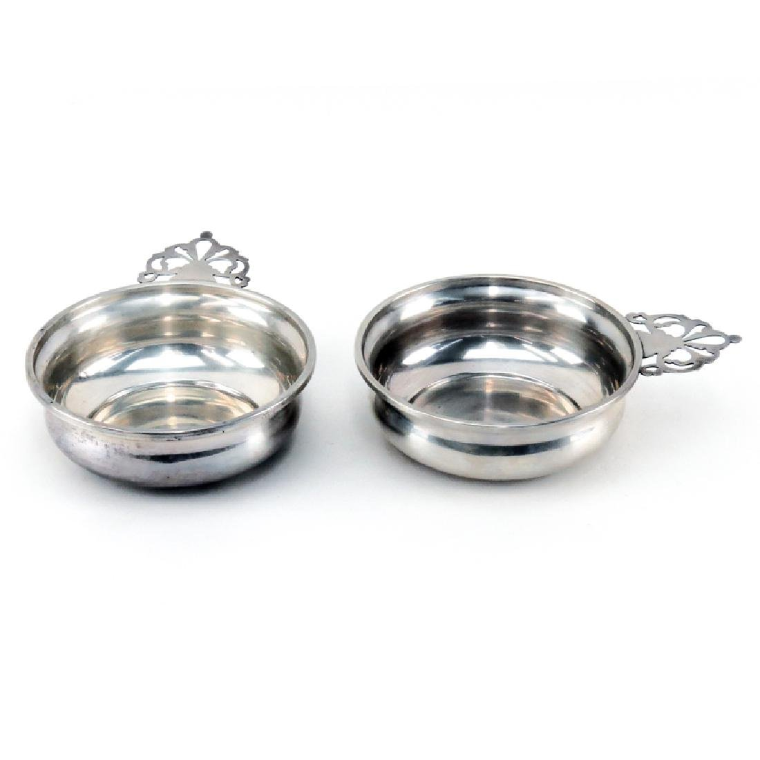 Grouping of Two (2) Sterling Silver Porringers.