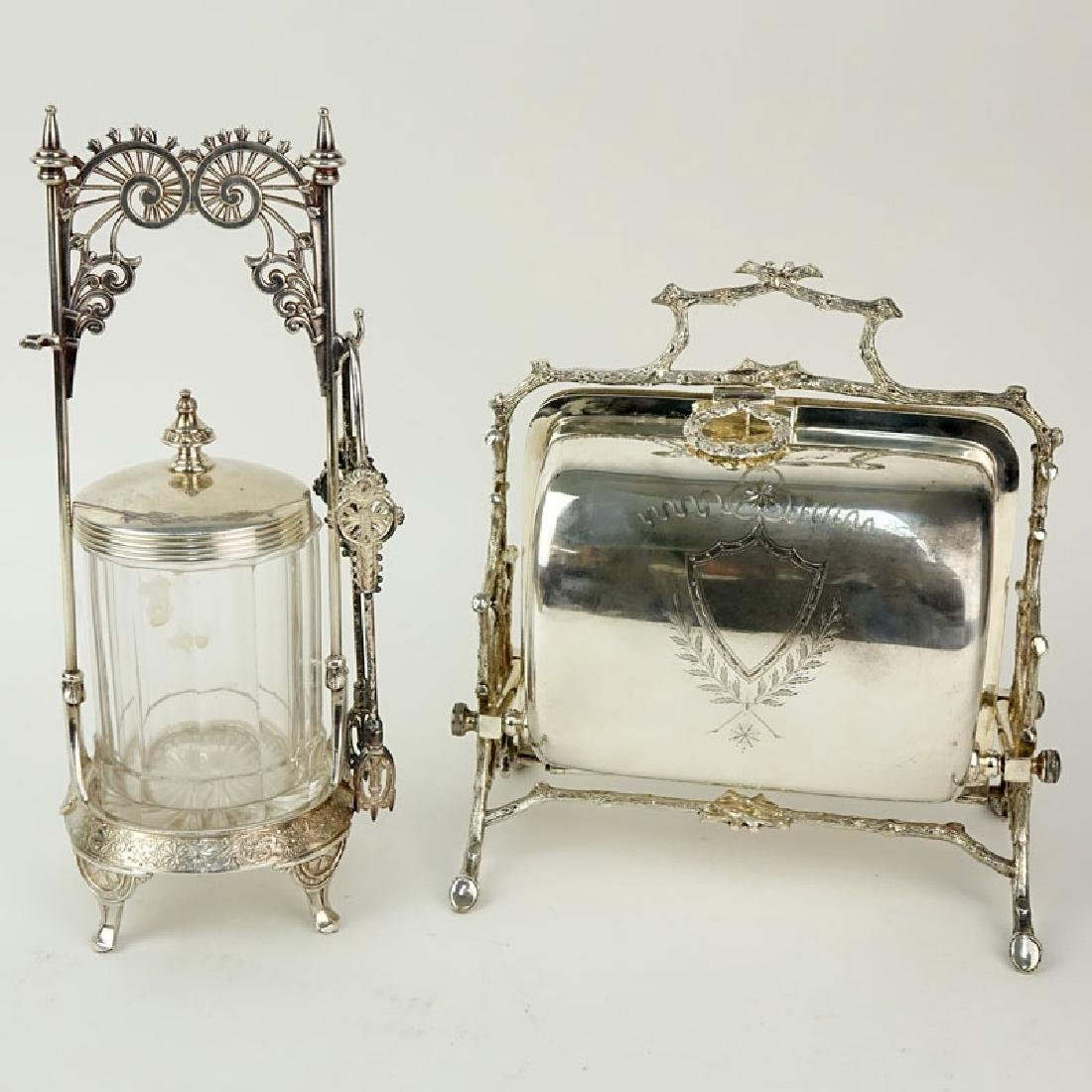 Grouping of Two (2) Antique Victorian Style Tabletop - 2
