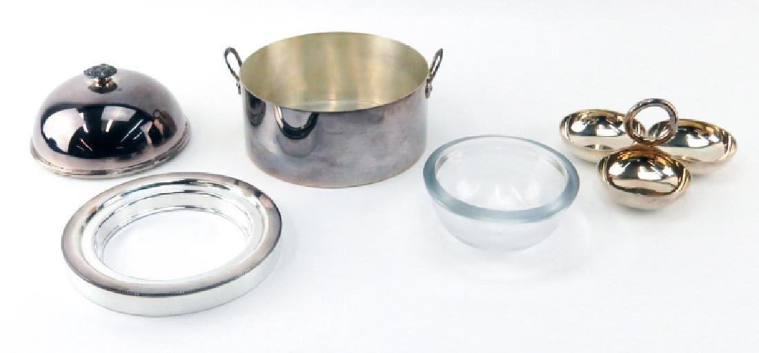 Two Elegant Silver Plate Serving Pieces. Includes a - 2