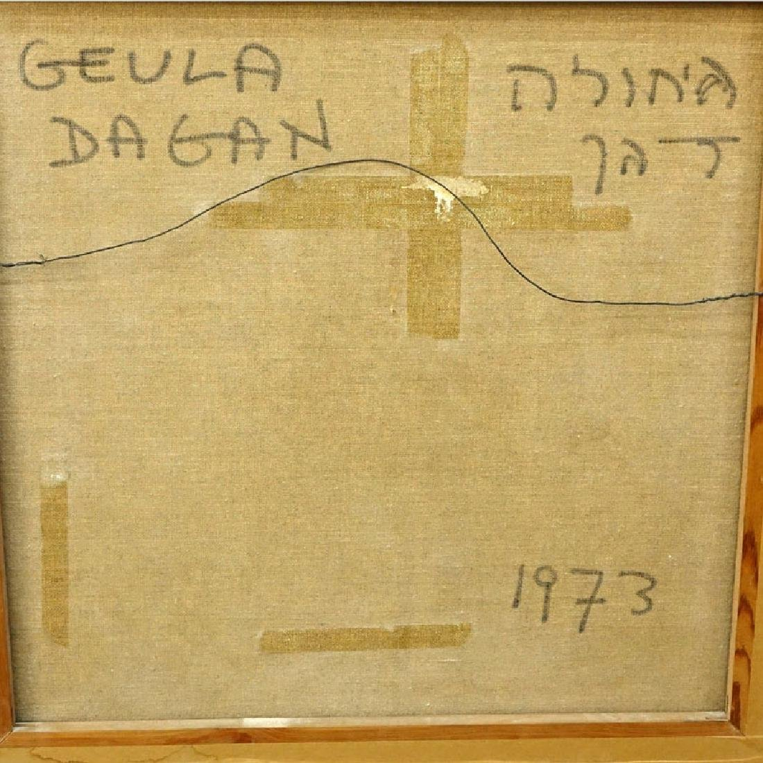 Geula Dagan, Israeli (b.1925) Oil on Canvas - 5