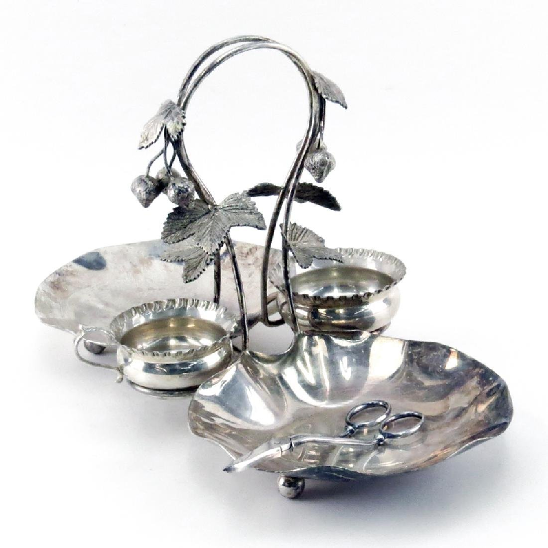 Antique Henry Wilkinson & Co, London Silver Plated - 2
