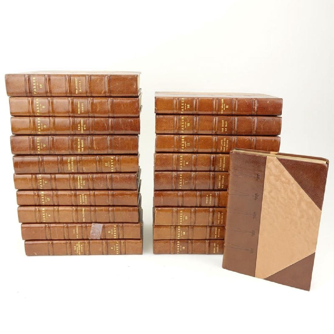 Gilbert Parker Imperial Edition Leatherbound Books