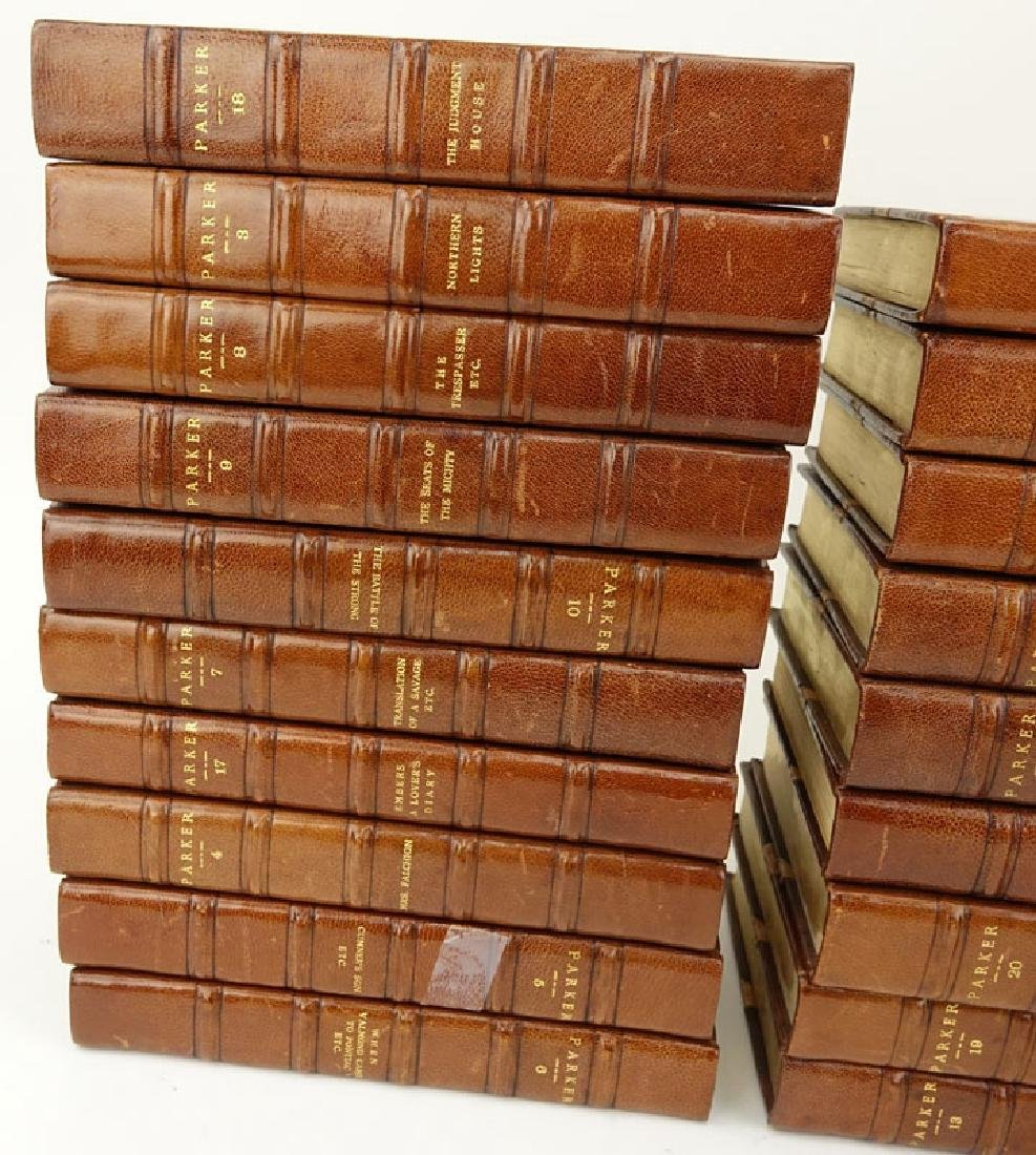 Gilbert Parker Imperial Edition Leatherbound Books - 2