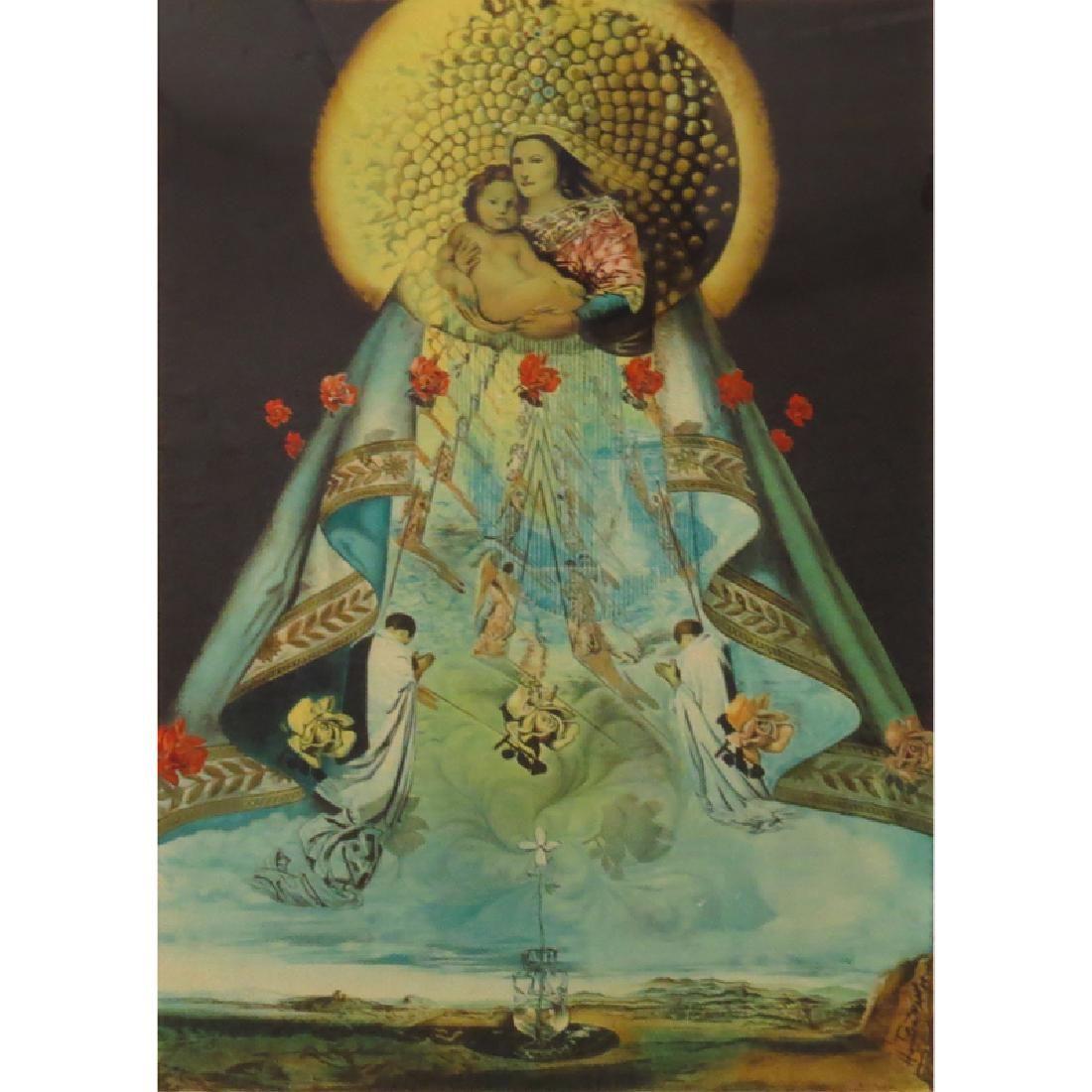 Salvador Dalí, Spanish (1904-1989) Color Lithograph,