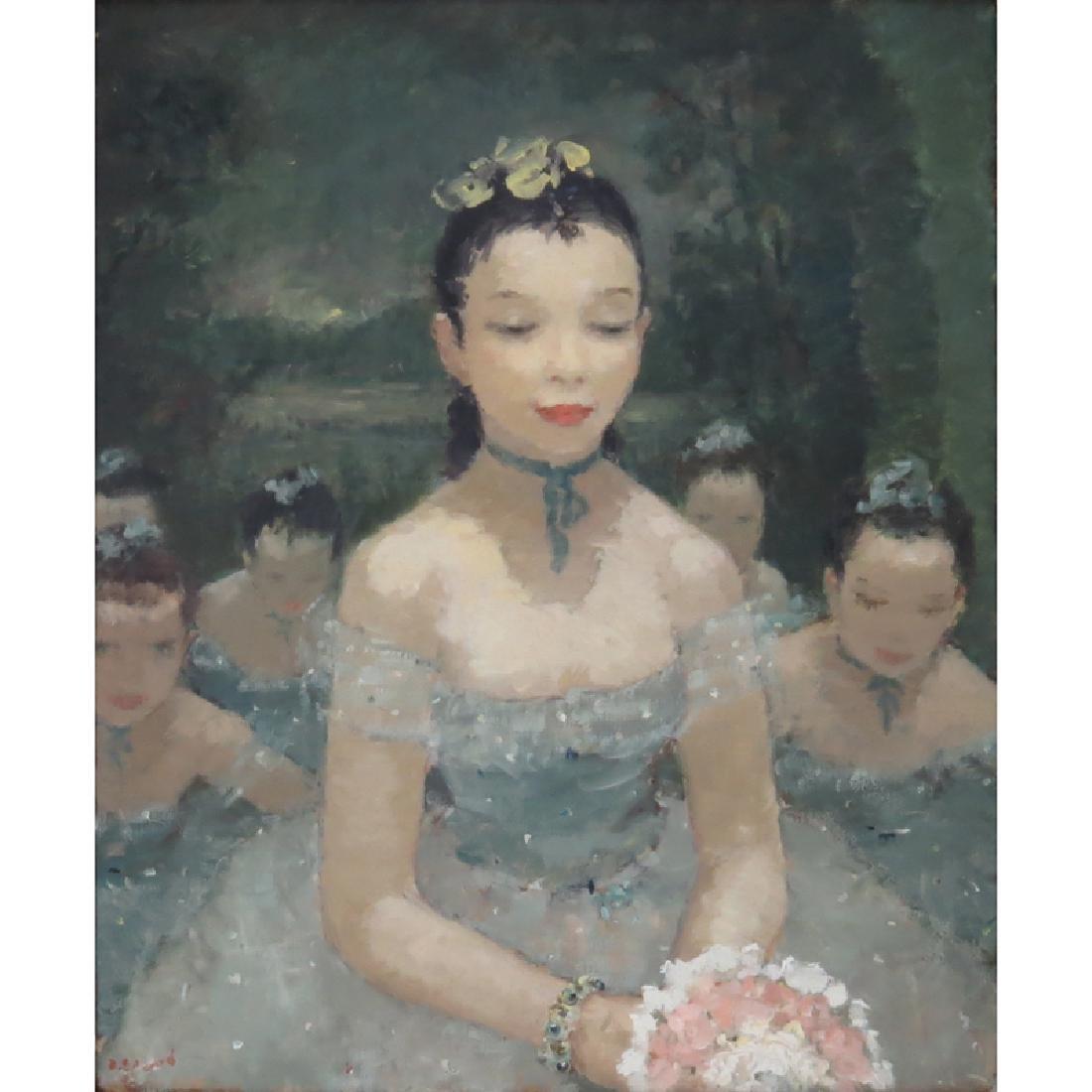 Dietz Edzard, German (1893-1963) Oil on canvas