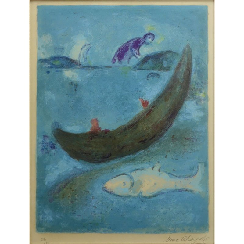 Marc Chagall, French/Russian (1887-1985) Color