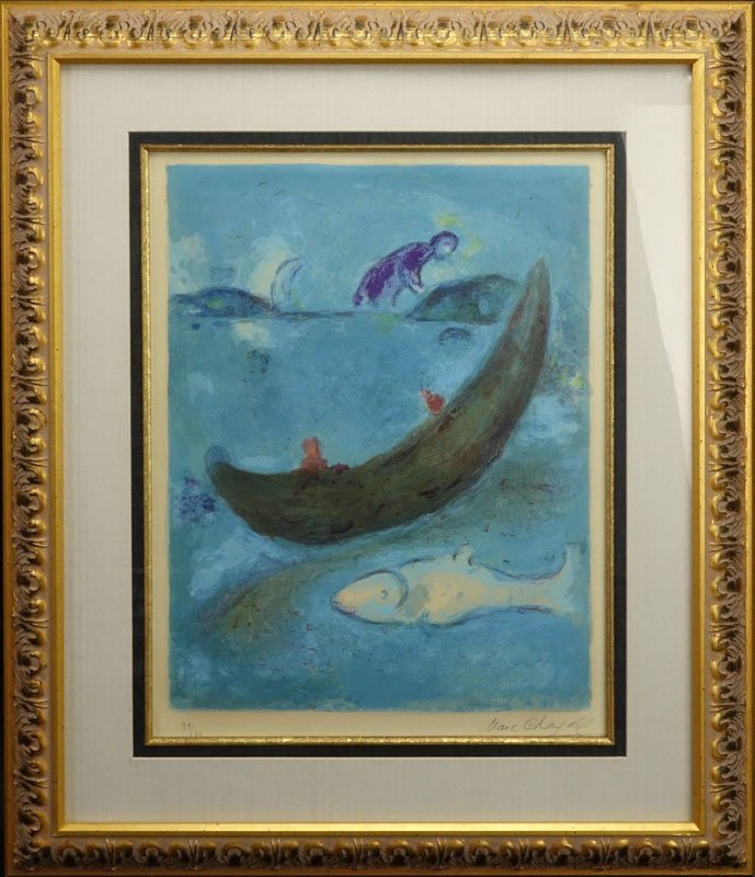 Marc Chagall, French/Russian (1887-1985) Color - 2