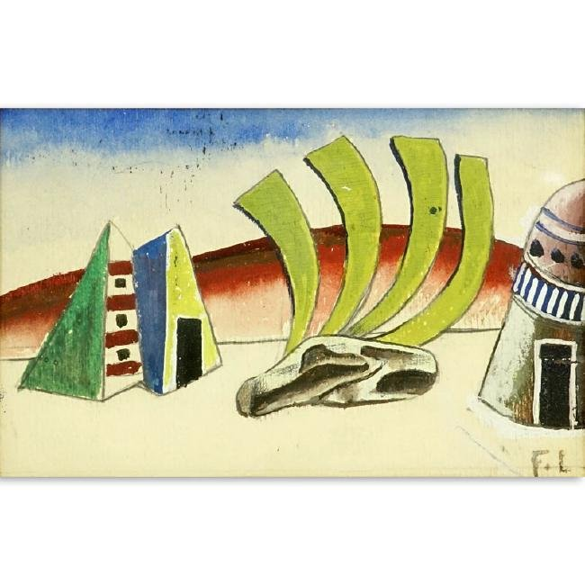 Fernand Léger, French (1881-1955) Gouache on Paper,