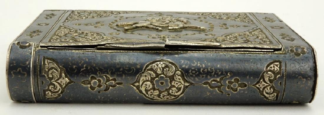 Early 20th Century Russian Steel Cigarette Case with - 2