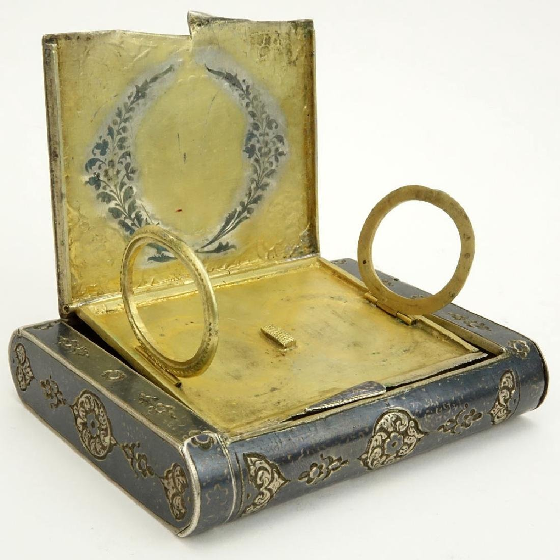 Early 20th Century Russian Steel Cigarette Case with - 4