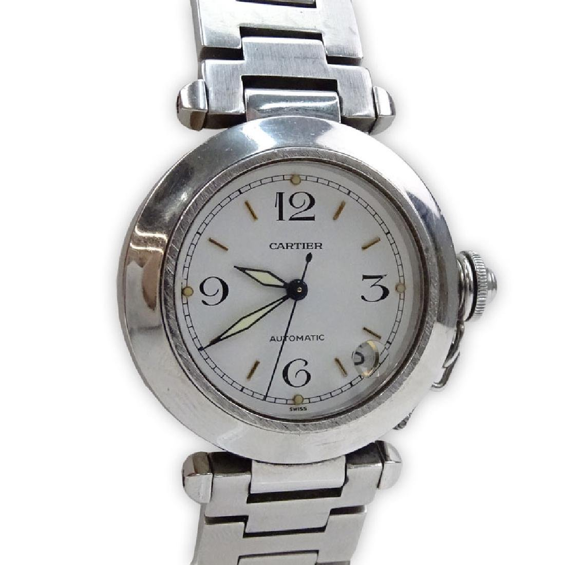 Man's Cartier Pasha Stainless Steel Automatic Movement