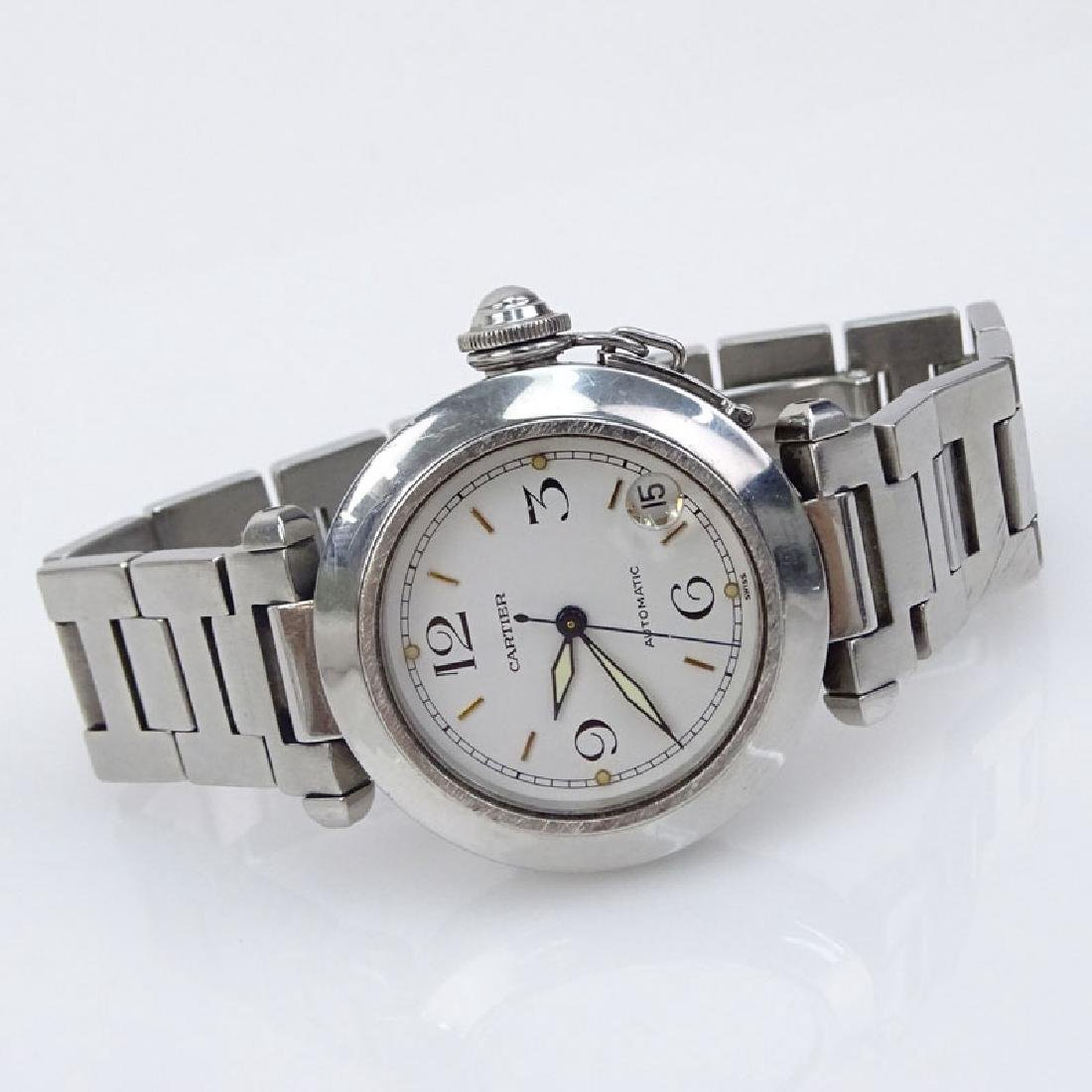Man's Cartier Pasha Stainless Steel Automatic Movement - 2