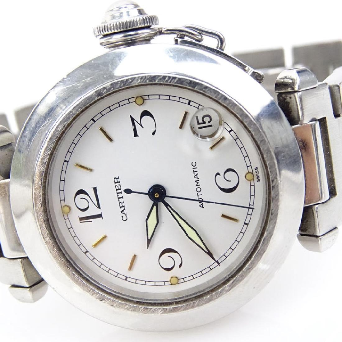 Man's Cartier Pasha Stainless Steel Automatic Movement - 3