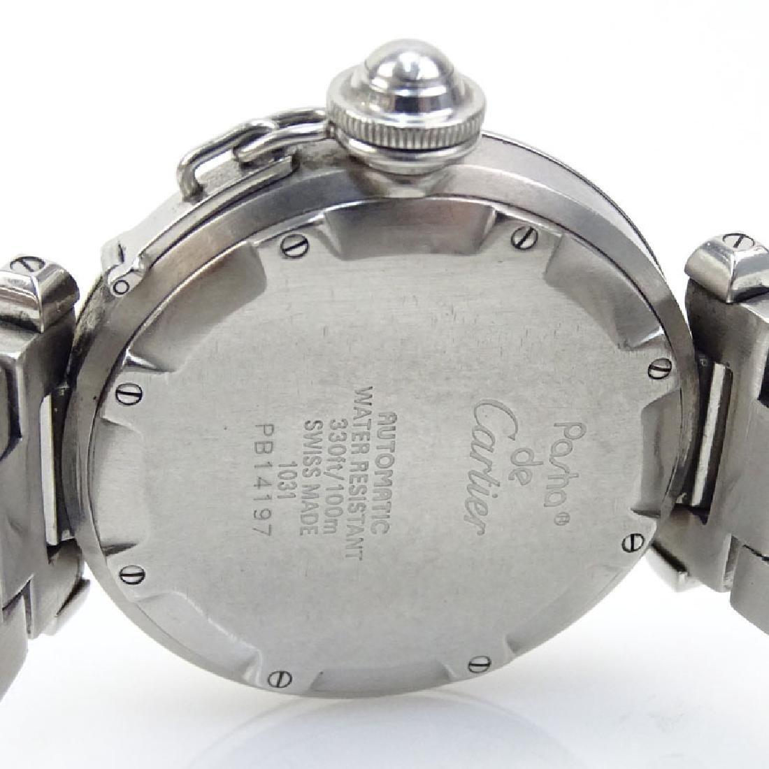 Man's Cartier Pasha Stainless Steel Automatic Movement - 5