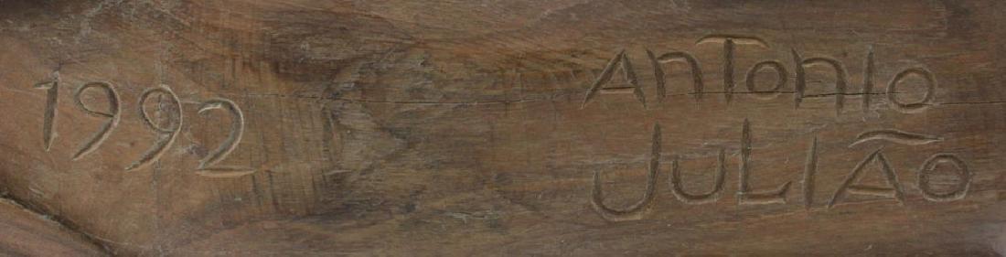 Antonio Juliao, Brazilian (20th Century) Folk Art Wood - 4