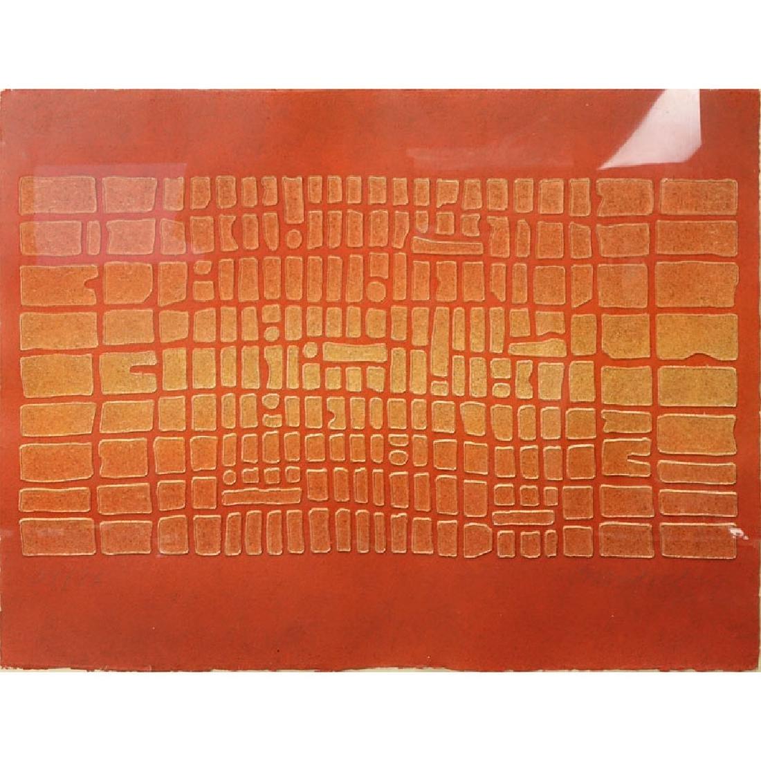 "Paul Maxwell, American (b-1925) ""Untitled"" Acrylic Hand"
