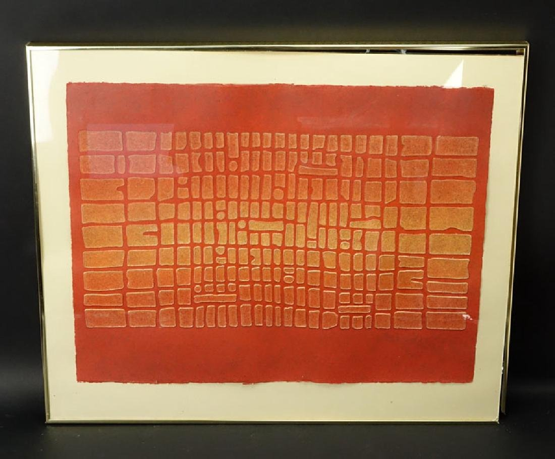 "Paul Maxwell, American (b-1925) ""Untitled"" Acrylic Hand - 2"