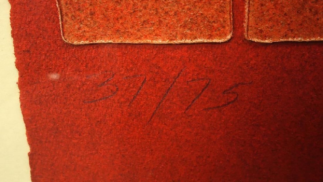"Paul Maxwell, American (b-1925) ""Untitled"" Acrylic Hand - 4"